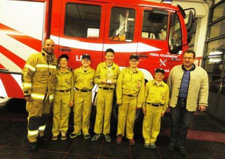 Feuerwehrjugend 1. Platz