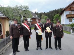 Beförderungen Winkler und Neubacher