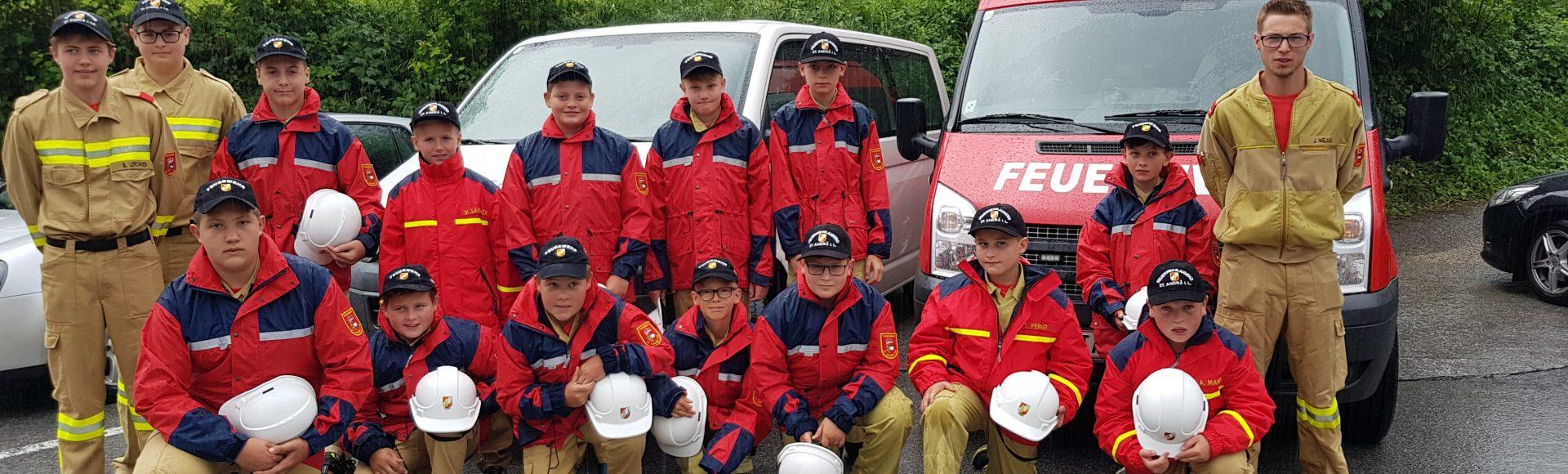 Leistungsbewerb der Feuerwehrjugend